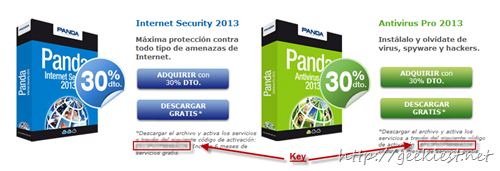 Free Panda Internet Security 2013 and Panda  Antivirus Pro 2013