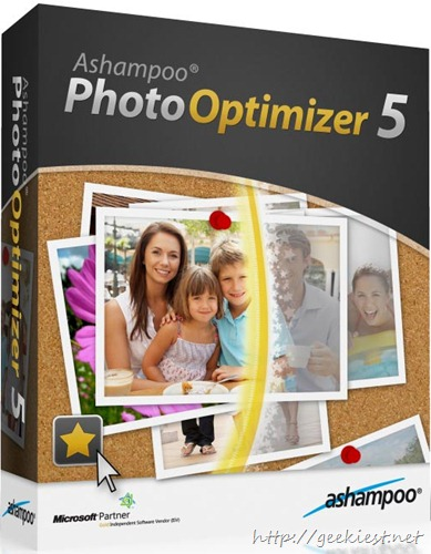 Ashampoo Photo Optimizer 5 - Giveaway 10 Full version licenses 