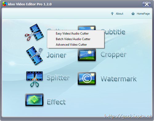 idoo Video Editor Pro - Cutter
