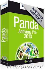 Free Panda  Antivirus Pro 2013